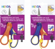 Heyda : Easy Cut : Left Handed Kids Scissors : Pointed Tip