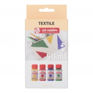 Talens : Art Creation : Fabric Paint : Set of 4 Pearl Colours