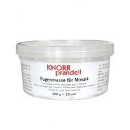 Knorr Prandell : White Adhesive Mosaic Grout : 200 g