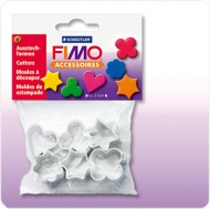 Set of 6 Mini Clay Cutters Fimo