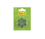 Makin's Metal Cutters Set with 3 flowers