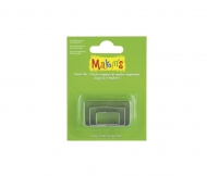Makin's Metal Cutters Set with 3 rectangulars