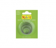 Makin's Metal Cutters Set with 3 circles