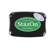 Quick Drying Solvent Ink Pad Tsukineko StazON Green