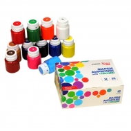 Rosa Set with Hobby Shiny Acrylics 9 colours x 20 ml