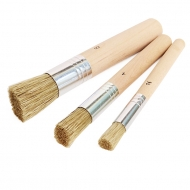Stencil Brush Set of 3