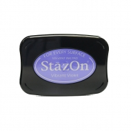 Quick Drying Solvent Ink Pad Tsukineko StazON Violet