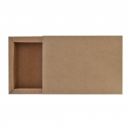 Box Made From a 280 gsm Kraft Paper 11 x 15.5 x 4 cm  (А6)