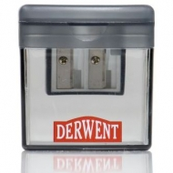 Derwent twin hole pencil sharpener