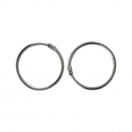 Split Rings for Scrapbook Albums 40 mm, 2 pcs