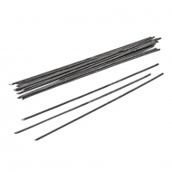 KPC wire black 1,8 mm, stick 15cm, 20 pcs