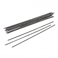 KPC wire black 1,4 mm, stick 15cm, 20 pcs