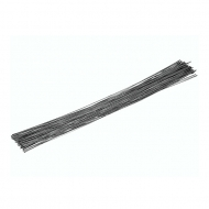 KPC wire black 0,4 mm, stick 20cm, 120 pcs