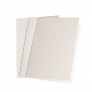 10 pcs A6 Pearlescent Folded Cards with Envelopes - Capiz