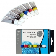 Watercolour Set Daler Rowney Simply 6 Colours * 12 Ml