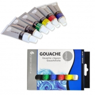 Daler Rowney Simply Gouache : Set of 6 Colours