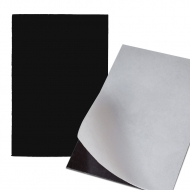 Self-adhesive Flexible Magnetic Foil 15 x 10 cm, 1 mm thick