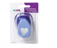 Craft Punch 25 mm Curved Heart