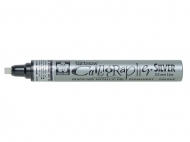 Sakura Pen Touch Silver Calligrapher Paint Marker Pen, Medium, 5 mm