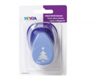 Heyda Christmas Craft Punch 25 mm - Tree with Star